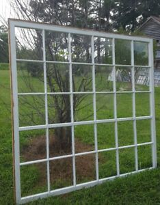 Antique Wood Window Picture Frame Pinterest Rustic Huge 30 Pane Greenhouse Decor