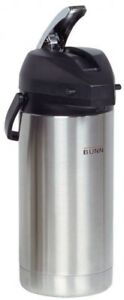 Stainless Coffee Urn Dispenser 3 8l Server Portable Brew Through Lid Commercial
