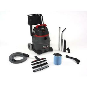 16 Gallon 2 Stage Commercial Wet Dry Vacuum Contractor Industrial Cleaning Tool