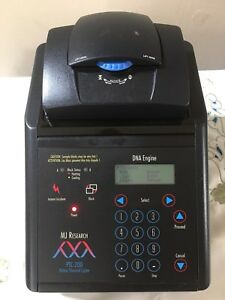 Mj Research Ptc 200 Dna Engine 96 well Pcr Unit Tested Working