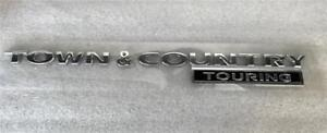 Chrysler Town Country Touring Emblem Nameplate Mopar Oem 05113423ac
