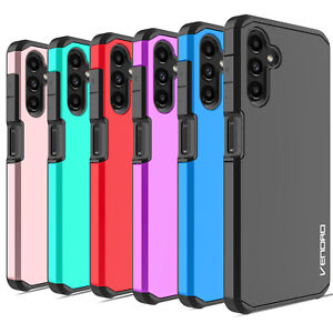 For Samsung Galaxy A12 Shockproof Hard Phone Case Cover Glass Screen Protector $9.95