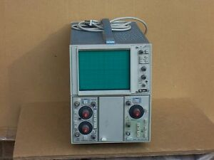 Tektronix 5111 2mhz Storage Oscilloscope With 5a18n And 5b10n Time Base Amplifie