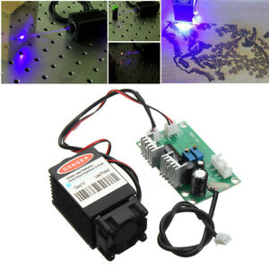 Focusable High Power 2 5w 450nm Blue Laser Module Ttl 12v Goggles For Engraver