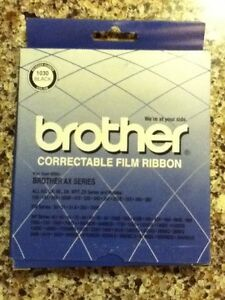 Four 4 Brother Correctable Typewriter Film Ribbons
