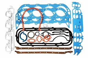 Bbc Complete Engine Rebuild Gasket Set W Head Gaskets 396 402 427 454