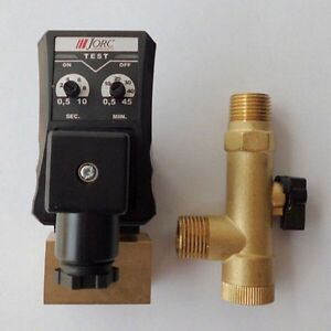 220v Ac 1 2 Automatic Electronic Timed Air Compressor Drain Tank Valve