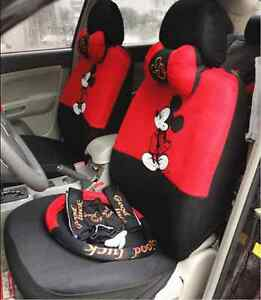 18pcs Universal Auto Car Seat Covers Two Colors Available Gift