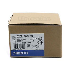 Omron E6b2 cwz6c Rotary Encoder 600p r New One Year Warranty
