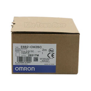 Omron Rotary Encoder E6b2 cwz6c 720p r New In Box One Year Warranty