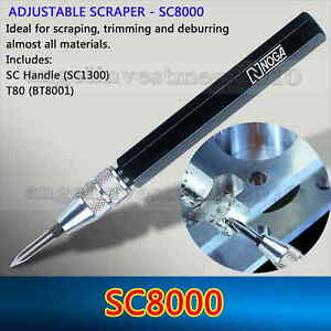 Sc8000 Chamfering Deburring Tool With T80 Blade Compatible