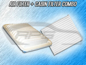 Air Filter Cabin Filter Combo For 2009 2010 2011 2012 2013 Toyota Corolla 1 8l