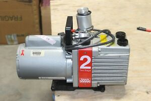 Edwards Two Stage Rotary Vane Vacuum Pump Model E2m2 Working
