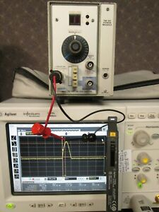 Agilent 1147a Oscilloscope Current Probe Tested For Infinium 50 Mhz 15a Ac dc