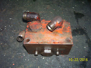 Vintage Ji Case Vac 14 Tractor hydraulic Valve Eagle Hitch Lift 1952