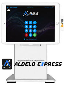 Pos x Isappos 9a Restaurant Stand Ipad Air 2 pro 9 7 White For Aldelo Touch