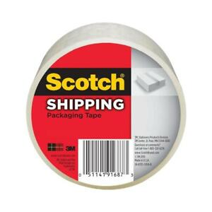 Scotch Shipping Packaging Tape Strong Durable Hot Melt Adhesive General Purpose
