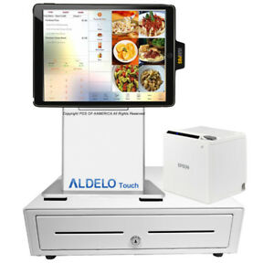 Pos x Isappos 9b Restaurant Stand Ipad Air 2 Pro 9 7 Black For Aldelo Touch New