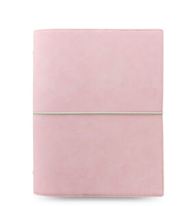 Filofax A5 Domino Soft Pale Pink With 2018 Diary Insert
