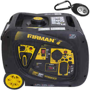 Firman Power Equipment W03083 Gas powered 3300 3000 Watt Remote Start Generator