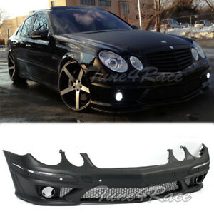 07 09 Mercedes Benz W211 E Class Sedan Amg Style Front Bumper Cover Pdc Model