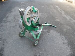 Greenlee 1818 Mechanical Bender For Emt imc rigid Conduit
