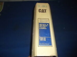Cat Caterpillar 267 277 287 Multi Terrain Skid Steer Loader Shop Service Manual