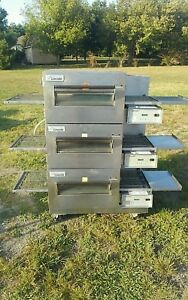 Lincoln Impinger 1132 Commercial Electric Triple Stack Conveyor Oven