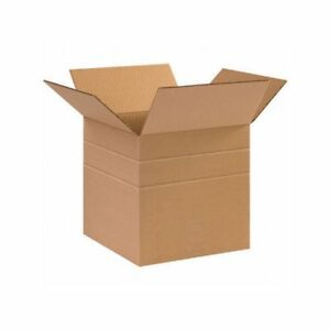 Box Packaging Multi depth Corrugated Box Kraft 25 bundle
