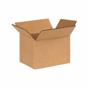 Box Packaging 6 Inch Corrugated Box Kraft 25 bundle
