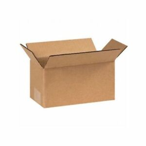 Box Packaging 8 Inch Corrugated Box Kraft 25 bundle