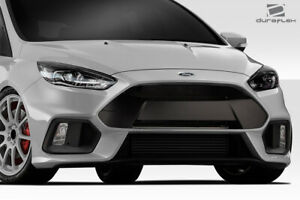 Duraflex Rs Look Front Bumper Body Kit 1 Pc For Ford Focus 16 18 Ed_1