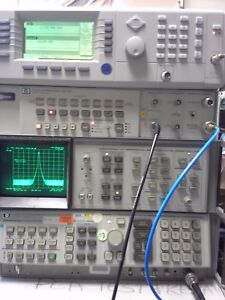 Hp 8566b Spectrum Analyzer Measuring Unit Working 100hz To 22 Ghz