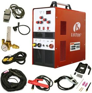 Tig Welder Ac Dc 200 Amp Stick Square Machine Auto Dual Voltage Foot Pedal
