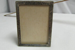 Vintage Square Raimond Sterling Picture Fram 3 1 2 X 2 1 2 Look