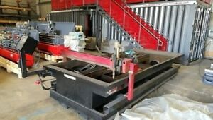 1997 Koike Aronson Dm510 Plasma Cutter 5 X 10 With Cnc Control Ready To Ship
