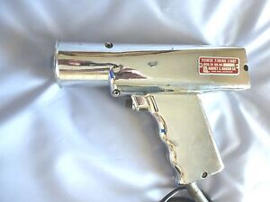 Vintage Harvey E Hanson Co Model 24 Chrome plated Power Inductive Timing Light