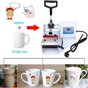 Digital Display Heat Press Transfer Sublimation Machine For 11oz Cup Coffee Mug