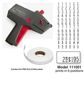 New Monarch 1110 Price Gun 1110 01 Free Shipping Authorized Monarch Dealer