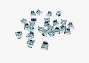 25 Pack 1 4 20 Self retaining Cage Nuts 3 8 Panel Hole Size Bfc7988 1420