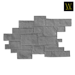 Medieval Cobble Single Concrete Stamp By Walttools floppy flex