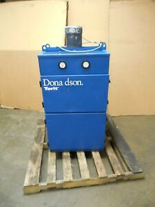 Donaldson Torit Edm Dust Mist Collector Filter 1hp 208 230v 3ph 22 x22 x11 1 2