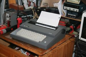Smith Corona Electric Typewriter Working But For Parts