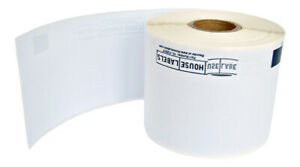 6 Rolls Of Dk 1202 r Brother compatible Removable Shipping Labels bpa Free