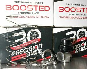 Precision Turbo Pw40 40mm V band Wastegate Bolt On Upgrade For Tial Mvs 38mm Wg