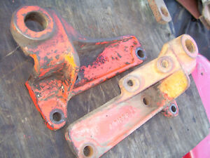 Vintage Ji Case 400 Diesel Tractor eagle Hitch Lift Arm Anchors 1955