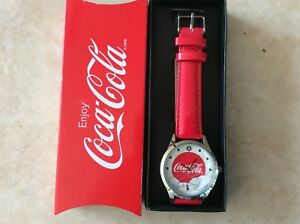 COCA COLA XMAS WATCH
