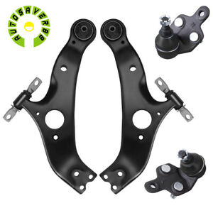 Set Of 4 Front Lower Control Arms Kit For 2004 2005 2006 2007 2010 Toyota Sienna