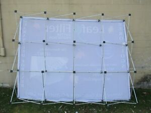 Instand Trade Show Pop Up Display Billboard Frame Bag Advertising 2354k