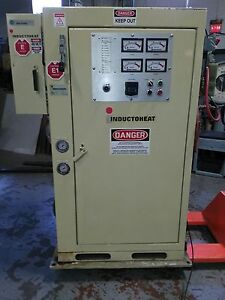 Inductoheat 50kw Induction Heater Sp12 50 10